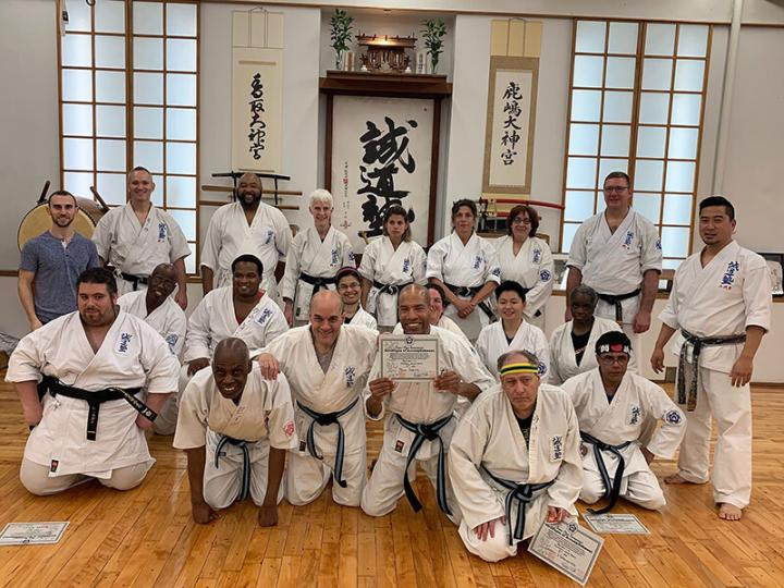 photo: Group shot at World Seido Karate